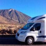 Location de camping car à Tenerife
