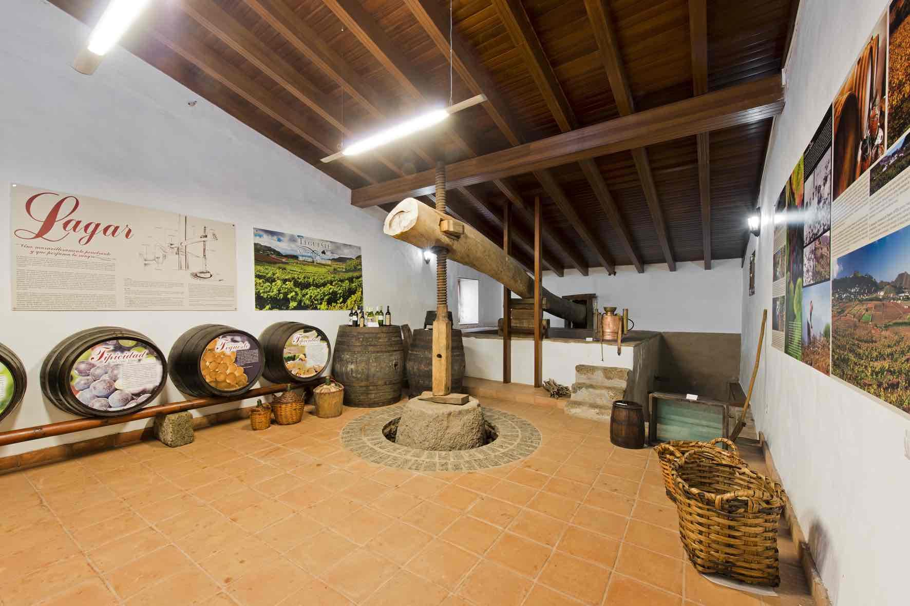 Centro d'interprétation ethnologique de La Casa de Los Zamoranos. Un immense travail de divulgation culturelle.